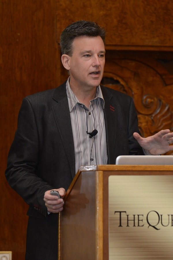Dr. David Brady speaking